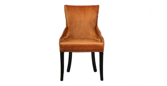 Camille Dining Chair-Orange