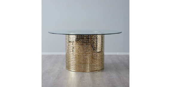 Alice Dining Table Clear Glass