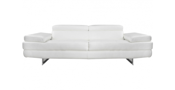 Viola Leather 3 Seater