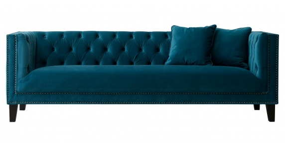 Vogue 3 Seater Turquoise