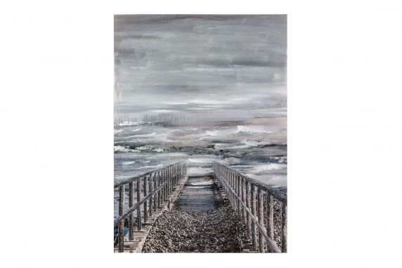 Pier Outlook Painting
